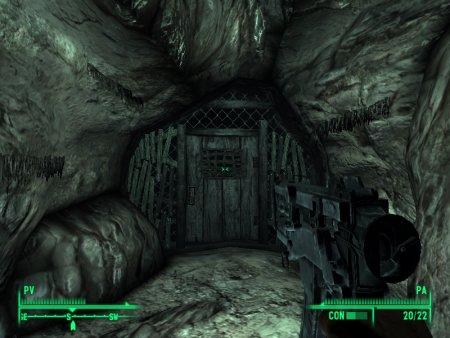 Buscando maleantes en las minas de Balmora xD